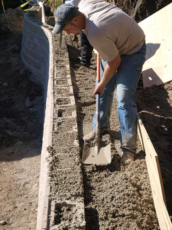 Retaining Wall Project Profiles Woodland Heights No