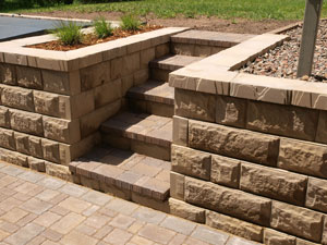 Stairs With AB Fieldstone